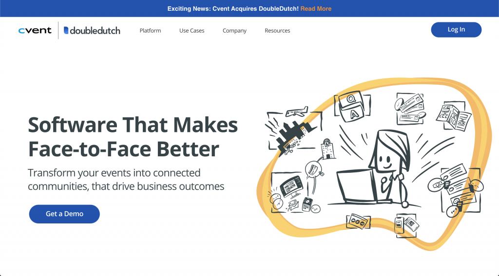 Doubledutch custom WordPress website
