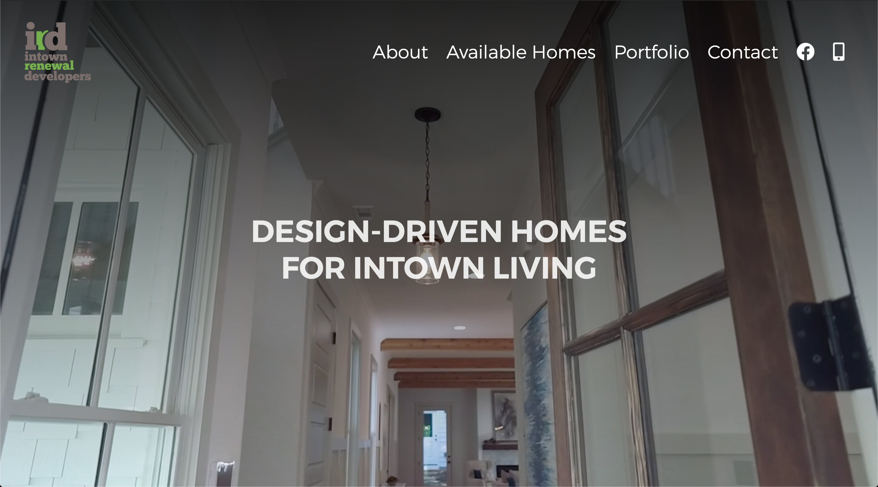 Intown Developers custom WordPress website