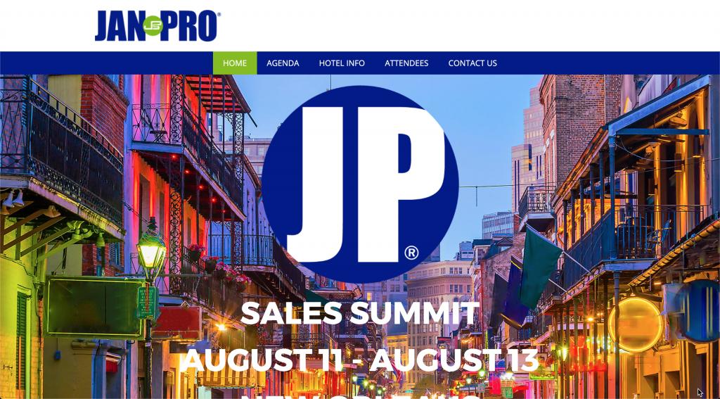 JanPro Custom WordPress Website